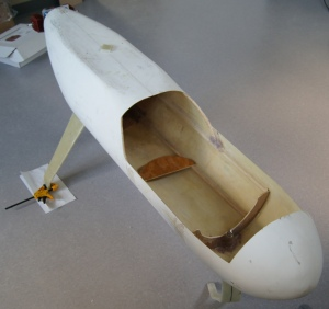 Fig. 6. Fuselage under construction.